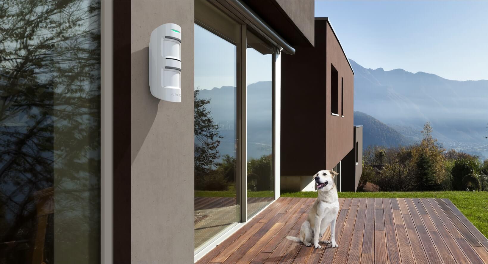 cảm biến hồng ngoại ngoài trời Ajax Motion Protect (2)